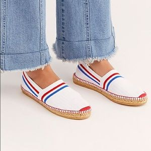Free People On A Boat Espadrille NWOB